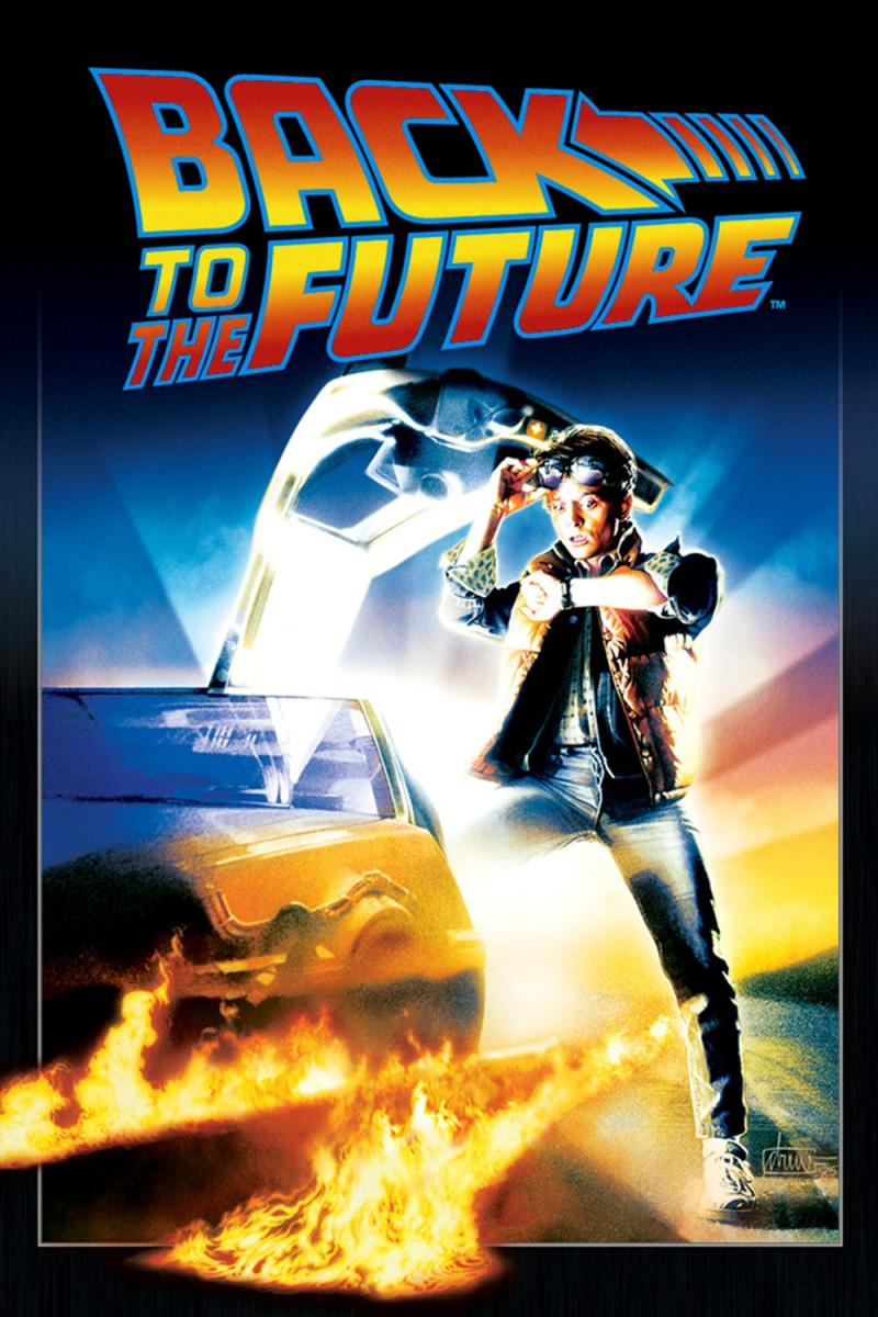 Poster phim Trở lại tương lai năm 1985