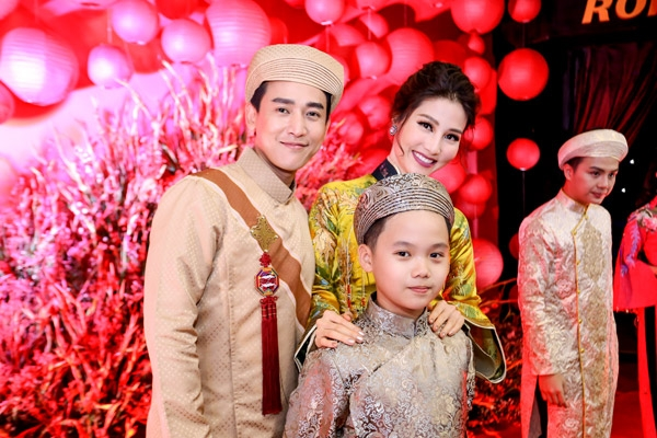 Trọng Khang và cặp đôi diễn viên Hứa Vĩ Văn - Diễm My