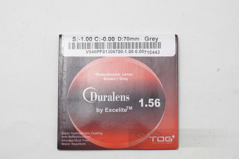 Tròng kính đổi màu Duralens của Thái Lan