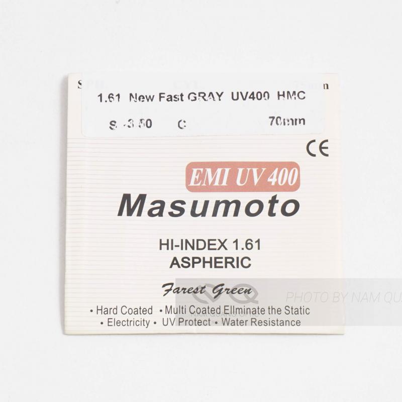 Tròng kính đổi màu Masumoto