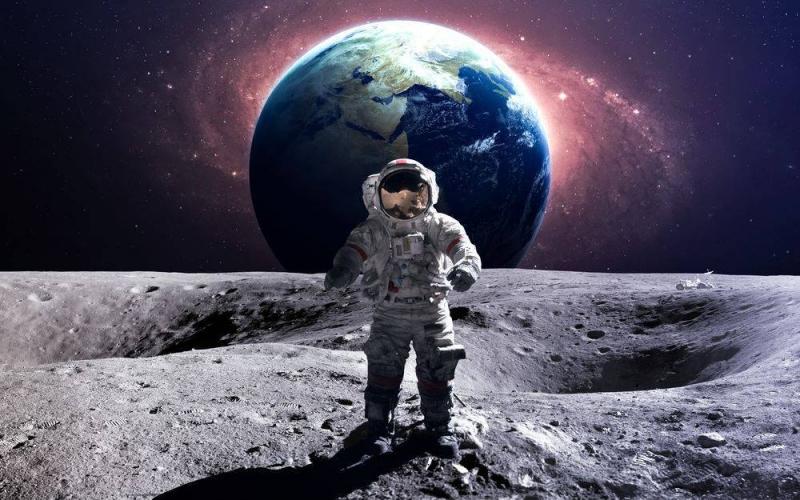 Trọng lực của Mặt Trăng yếu hơn nhiều so với Trái Đất