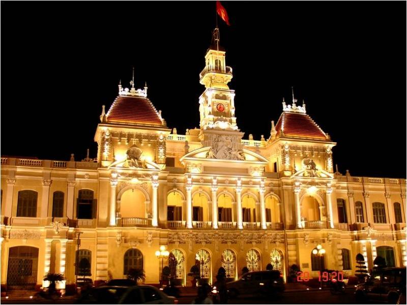 Trụ sở ủy ban nhân dân thành phố