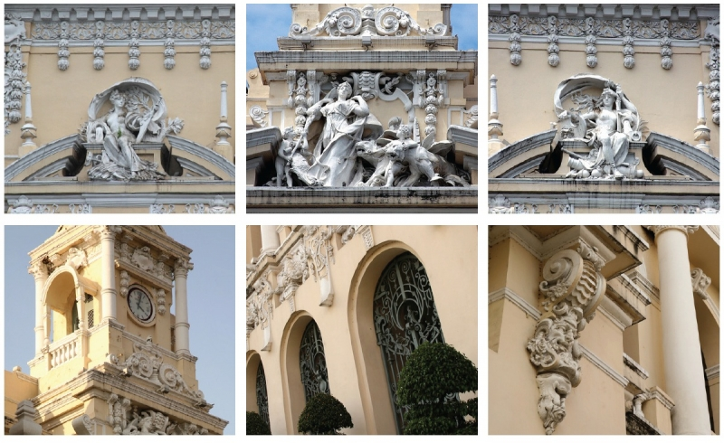 Kiến trúc đặc sắc