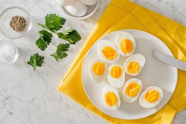 Trứng giảm cân và làm đẹp
