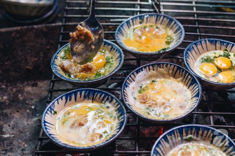 Trứng chén nướng 106 Chùa Láng
