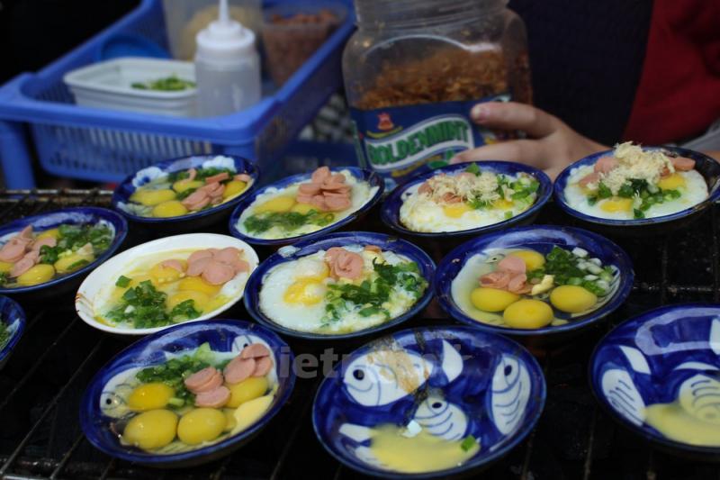 Quán trứng chén nướng 111 Đội Cấn