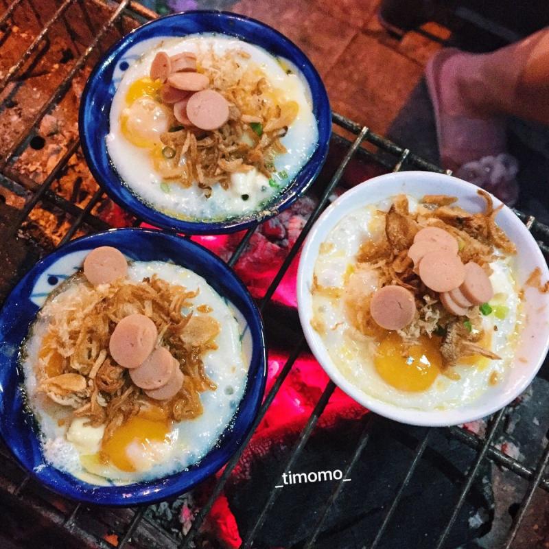 Những phần chén trứng khá vừa vặn, tuy không qúa to nhưng đủ để bạn nếm được vị ngon của nó và yêu thích.
