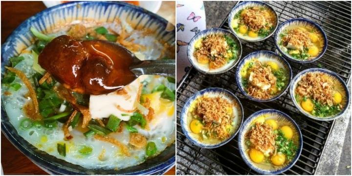Trứng cút đút than phô mai đặc sản Đà Nẵng