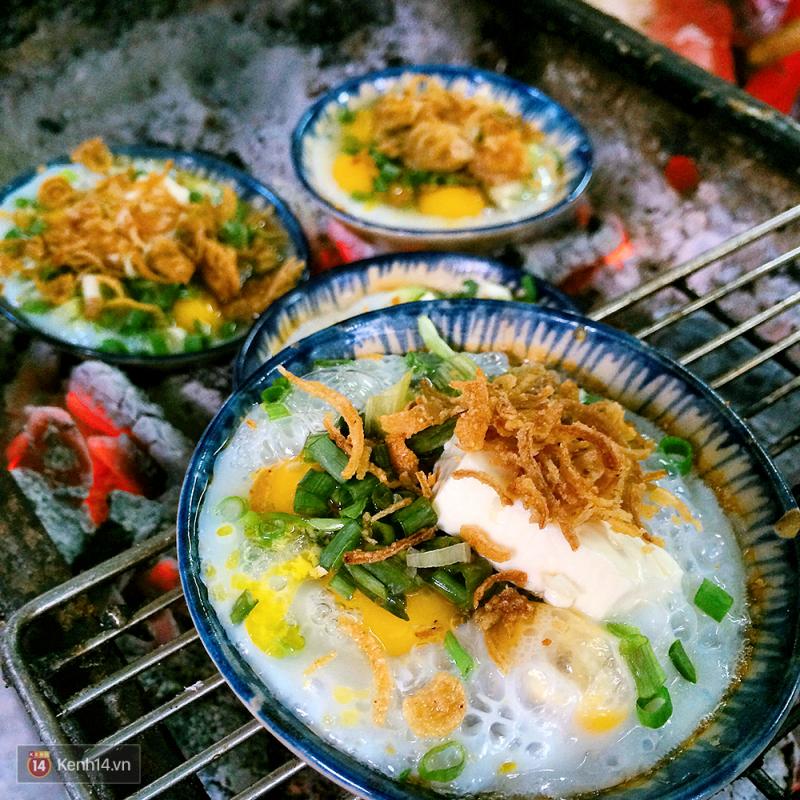 Trứng cút đút than phô mai – 6.000đ/chén
