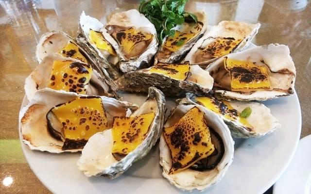 Một trong những món ăn hải sản ở Trung Gia Seafood