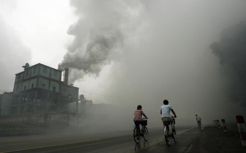 Tình trạng không khí tồi tệ ở các thành phố của quốc gia này