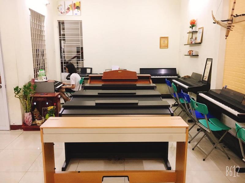 Phòng học Piano của trung tâm