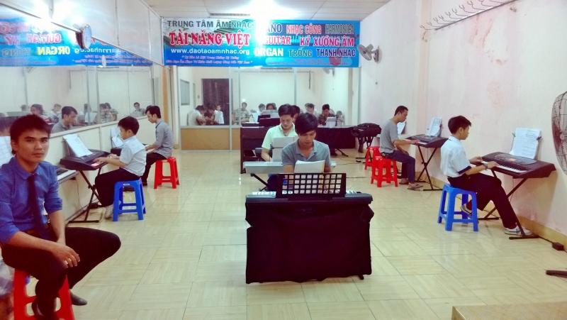 Trung Tâm Âm Nhạc Tài Năng Việt có nhiều kinh nghiệm trong việc đào tạo âm nhạc