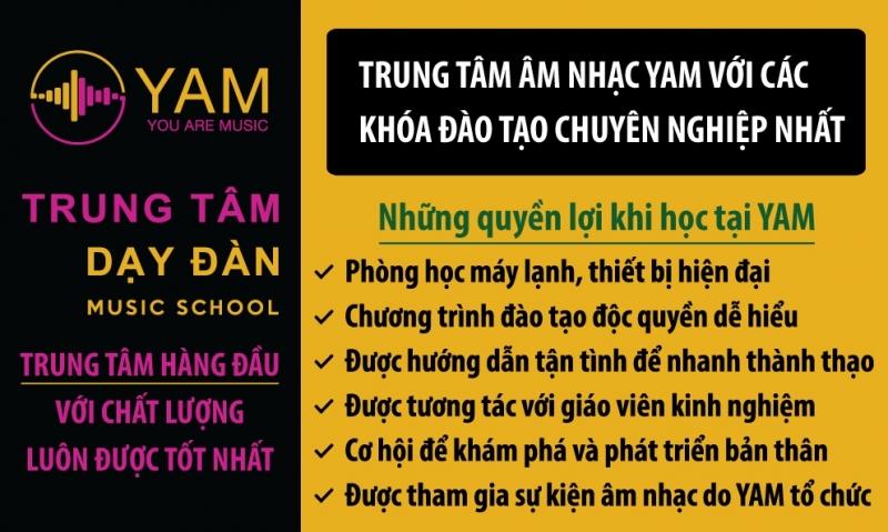 Giới thiệu trung tâm âm nhạc YAM