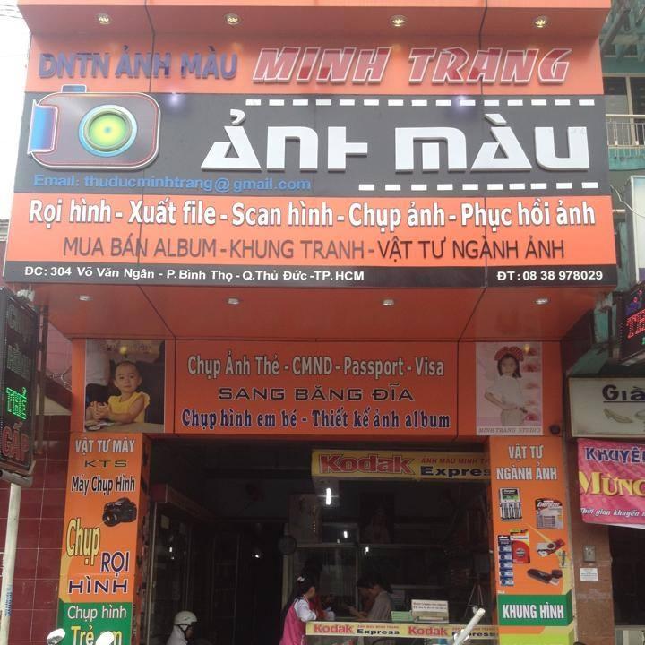 Trung tâm ảnh màu Minh trang