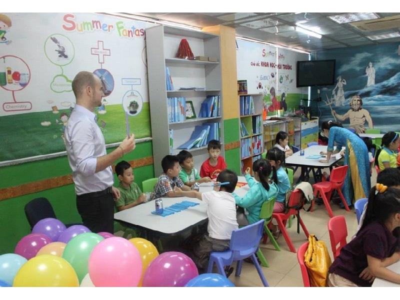 Trung tâm Anh ngữ AMA - trung tâm Tiếng Anh cho trẻ em tốt nhất tại TP. HCM