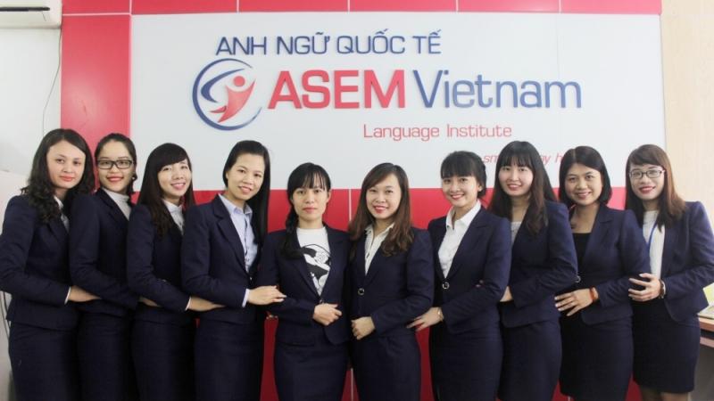 Một bộ phận giáo viên tại ASEM