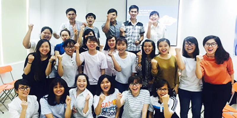 Lớp học năng động vui vẻ