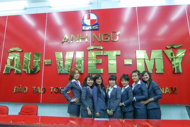 Trung tâm Anh ngữ Âu Việt Mỹ