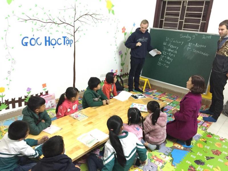 trung tâm Anh ngữ Benative Kids