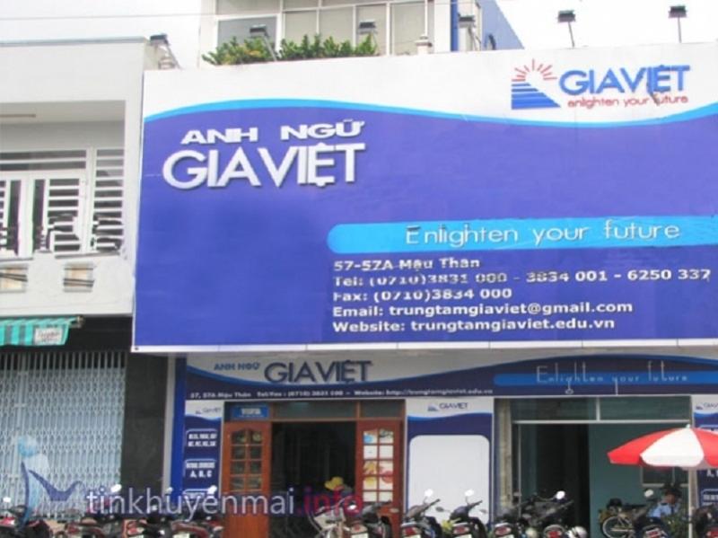 Trung tâm Anh Ngữ Gia Việt