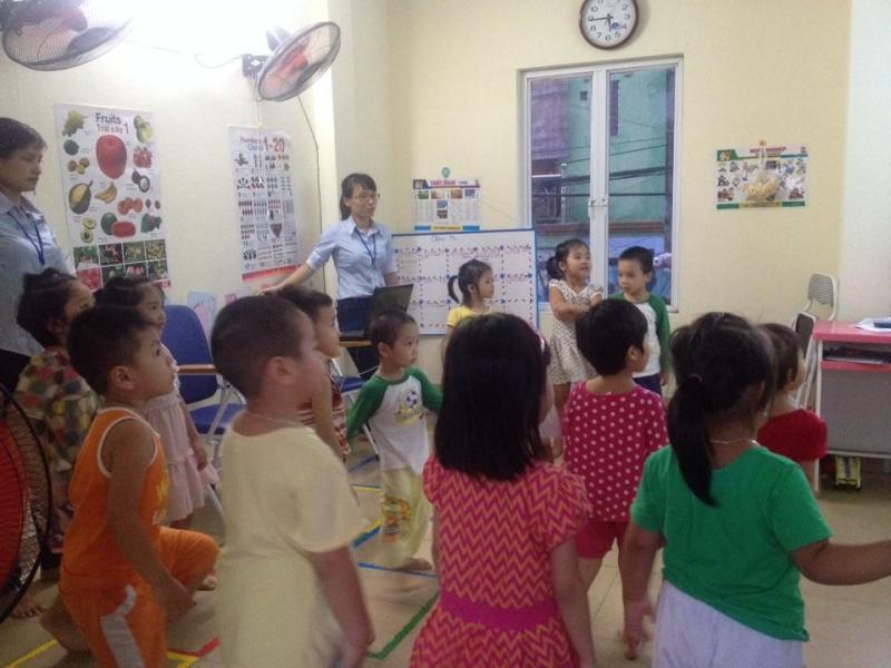Lớp học tiếng anh trẻ em tại iSpeaking
