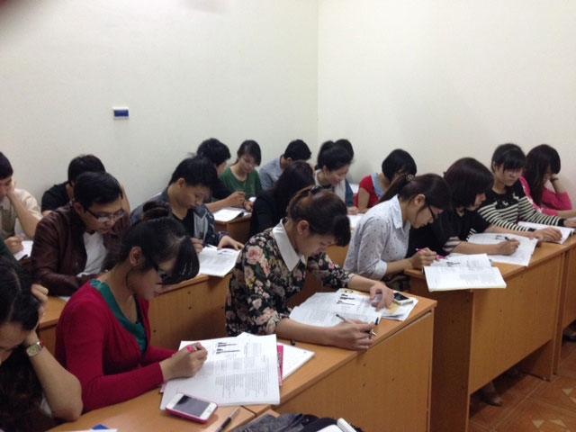 Học viên học tập tại ITC
