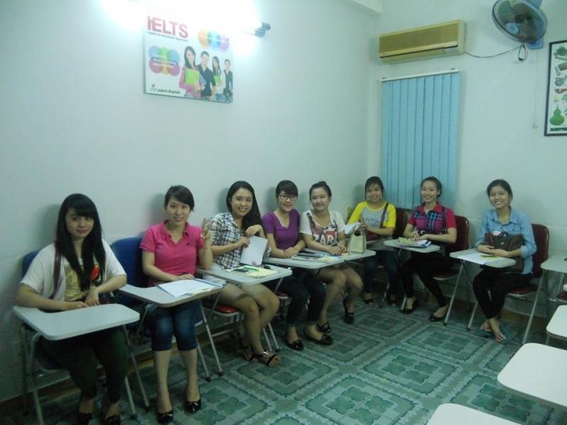 Lớp học ielts tại  Trung Tâm Anh Ngữ Modern