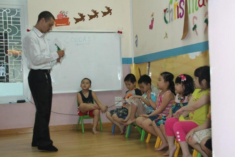 Lớp học tiếng anh trẻ em tại Popodoo