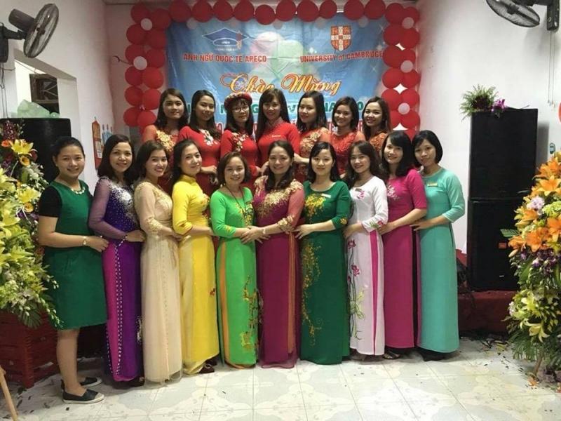 Đội ngũ giáo viên tại Trung Tâm Anh ngữ Apeco