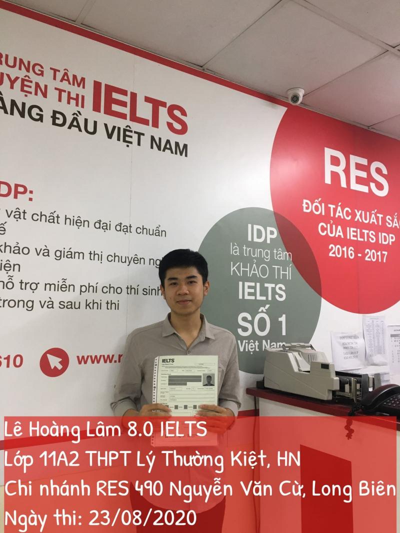Trung tâm Anh Ngữ RES Việt Nam