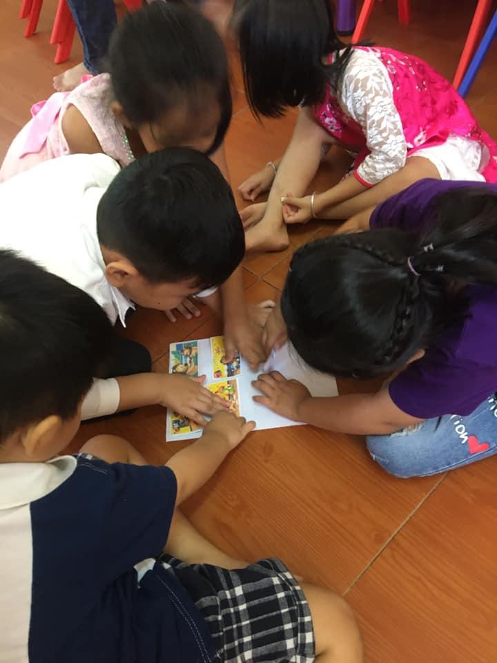 Học viên học tập tại lớp