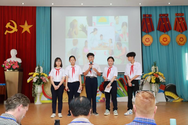 Trung tâm Anh ngữ Tự nhiên NES -English Speaking Contest 2021 for Secondary Schools