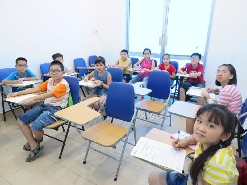 Lớp học tiếng Anh dành cho thiếu nhi tại trung tâm