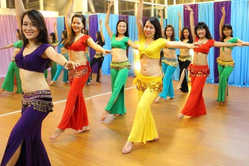 Hiện tại Studio đang tổ chức rất nhiều các lớp belly dance với nhiều mục đích khác nhau