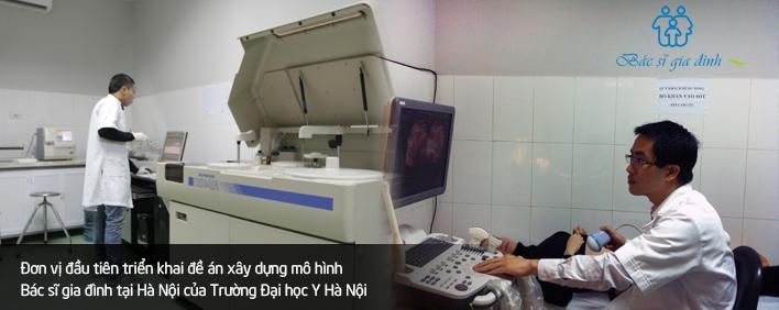 Trung tâm Bác Sĩ Gia Đình Hà Nội - Cùng bạn san sẻ mọi âu lo