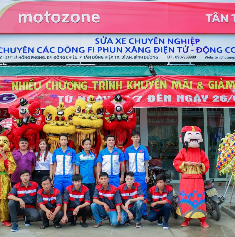 Trung tâm bảo dưỡng sữa chữa xe máy Tân Thành