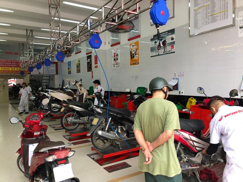 Top 5 Trung tâm bảo dưỡng xe máy honda uy tín nhất Thái Nguyên - Toplist.vn