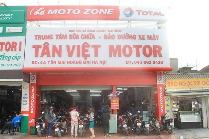 Tân Việt Motor là một trong những công ty Việt Nam đi tiên phong trong lĩnh vực Sửa chữa và bảo dưỡng xe máy