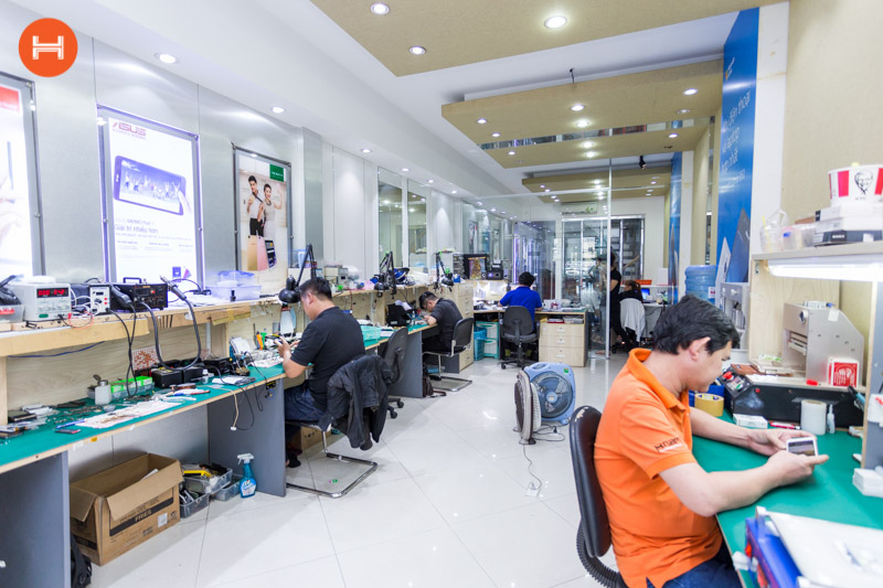 Trung tâm sửa chữa Hnam Mobile