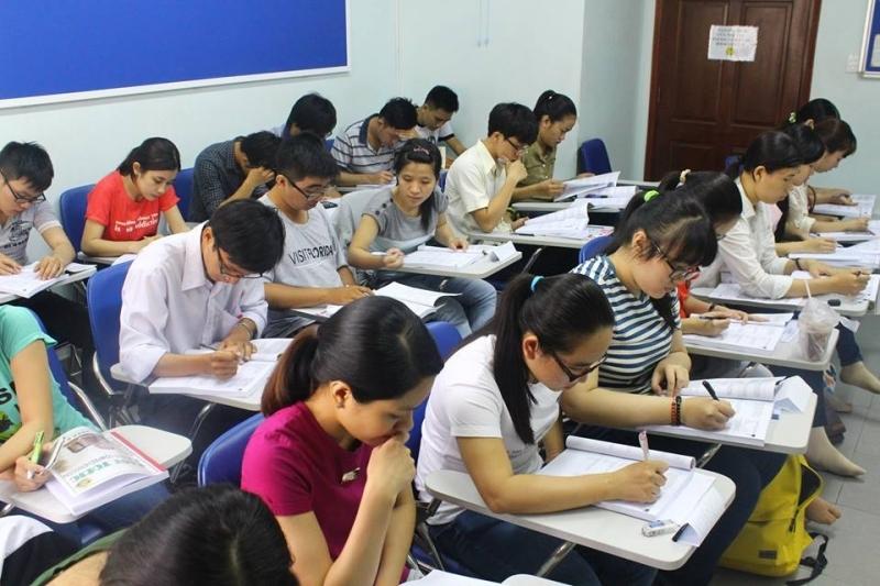 Một buổi luyện thi đại học