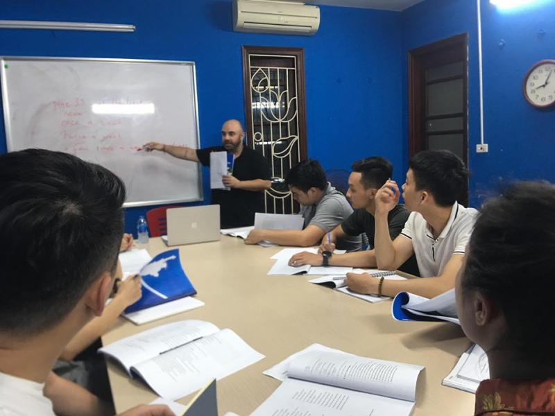 Trung tâm Boston English Vietnam - địa chỉ học tiếng anh cho người mới bắt đầu tại Hà Nội
