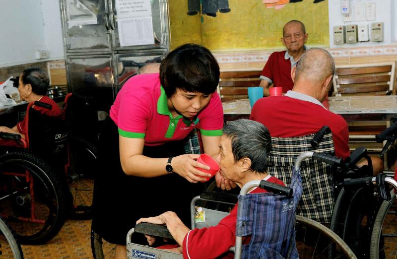 Trung tâm chăm sóc người cao tuổi Bình Mỹ