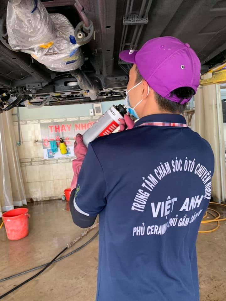 Trung tâm chăm sóc ô tô chuyên nghiệp Việt Anh