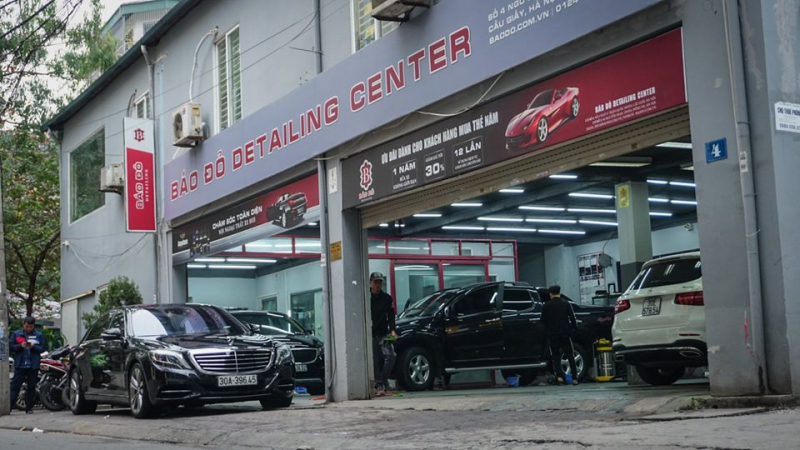 Trung tâm chăm sóc xe hơi Báo Đỏ