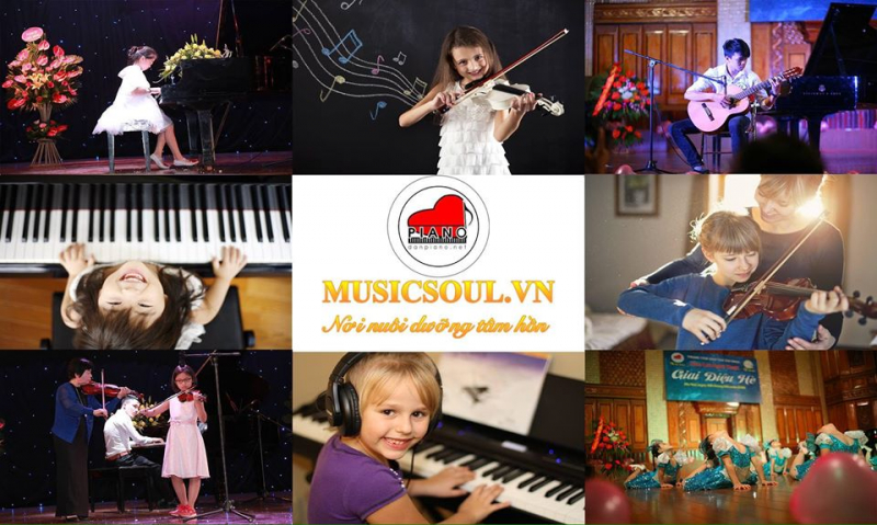 Trung tâm đào tạo âm nhạc Music Soul