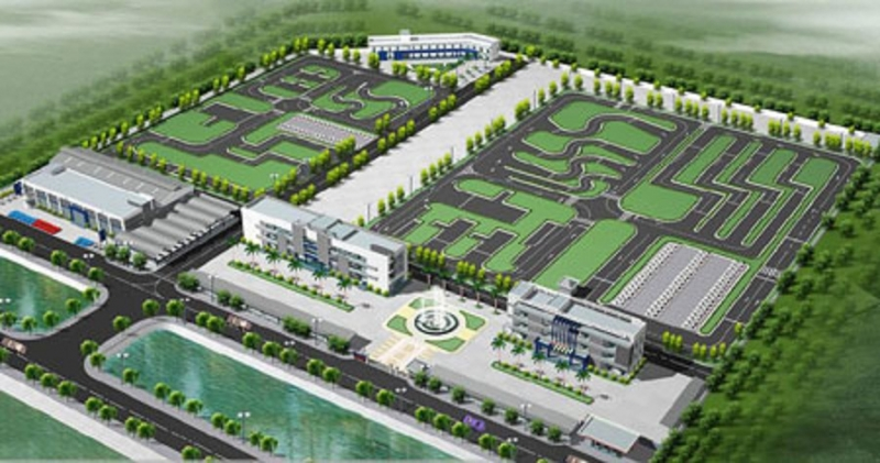 Trung tâm đào tạo và sát hạch lái xe số 1 Nghệ An đóng tại Km 18+900 đường tránh TP Vinh – Xã Hưng Mỹ - Hưng Nguyên – Nghệ An