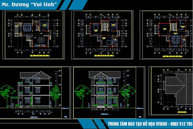 Trung tâm đào tạo đồ họa VITADU