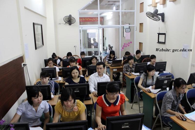 Lớp học kế toán tại Trung tâm GEC