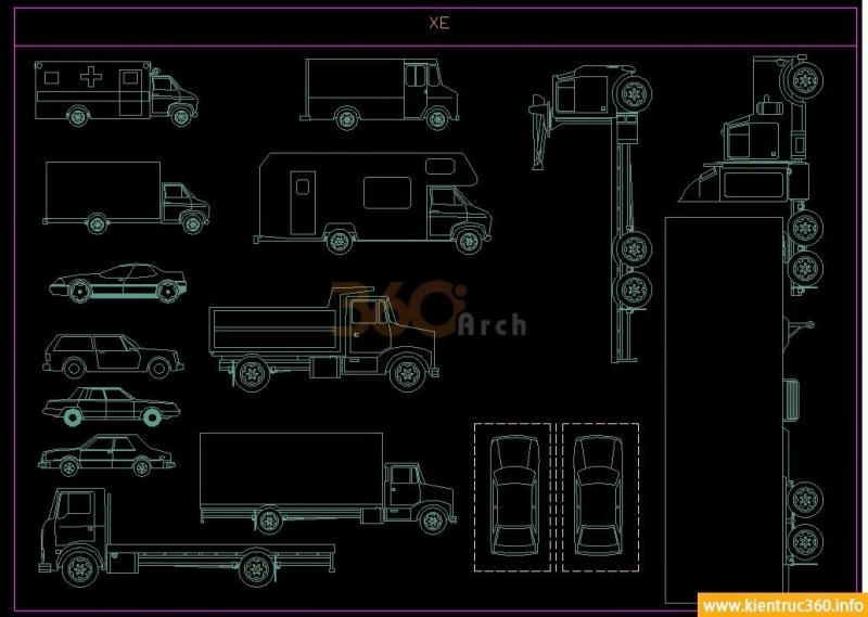 Mô hình các loại xe